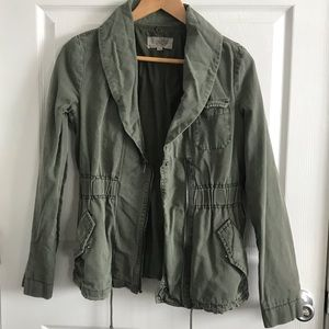 Urban Outfitters Olive Green Utility Jacket 🌿